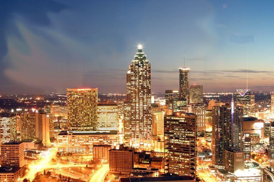 Скачать онлайн бесплатно лучшее фото города Атланта в хорошем качестве