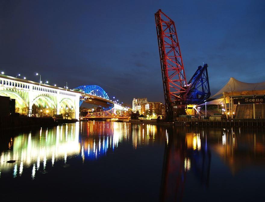 Скачать онлайн бесплатно лучшее фото города Кливленд в хорошем качестве