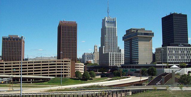 Смотреть красивое фото города Кливленд штат Огайо США