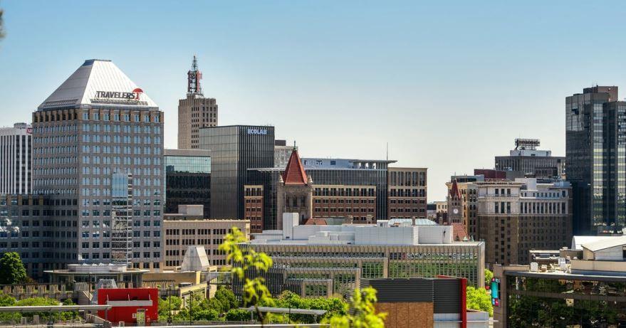 Скачать онлайн бесплатно лучшее фото города Сент Пол в хорошем качестве
