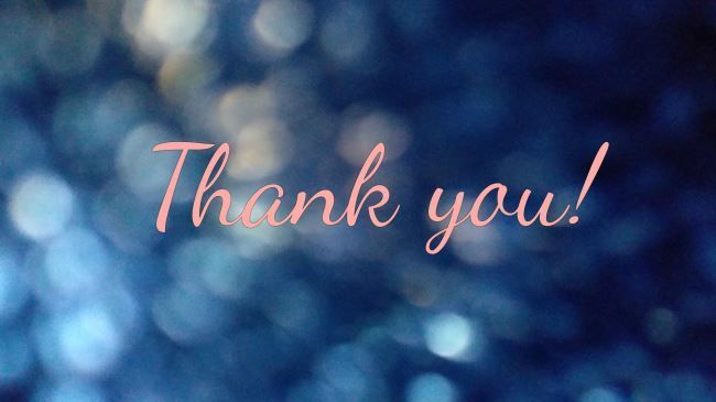 Thank you (Англ. спасибо)