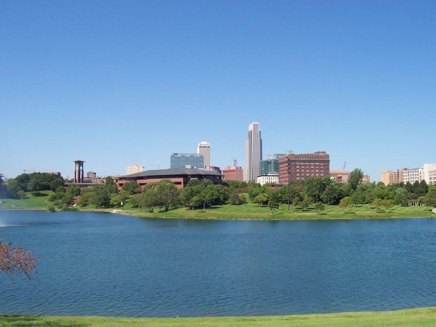 Смотреть красивое фото города Омаха штат Небраска США