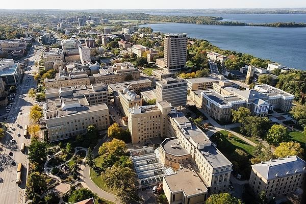 Смотреть красивое фото города Мадисон столица штата Висконсин
