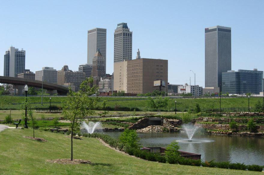Смотреть красивое фото города Гранд Рапидс штат Мичиган США