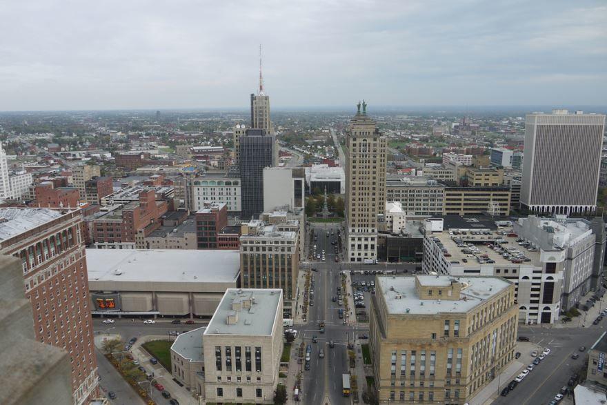 Скачать онлайн бесплатно лучшее фото города Буффало штата Нью Йорк в хорошем качестве