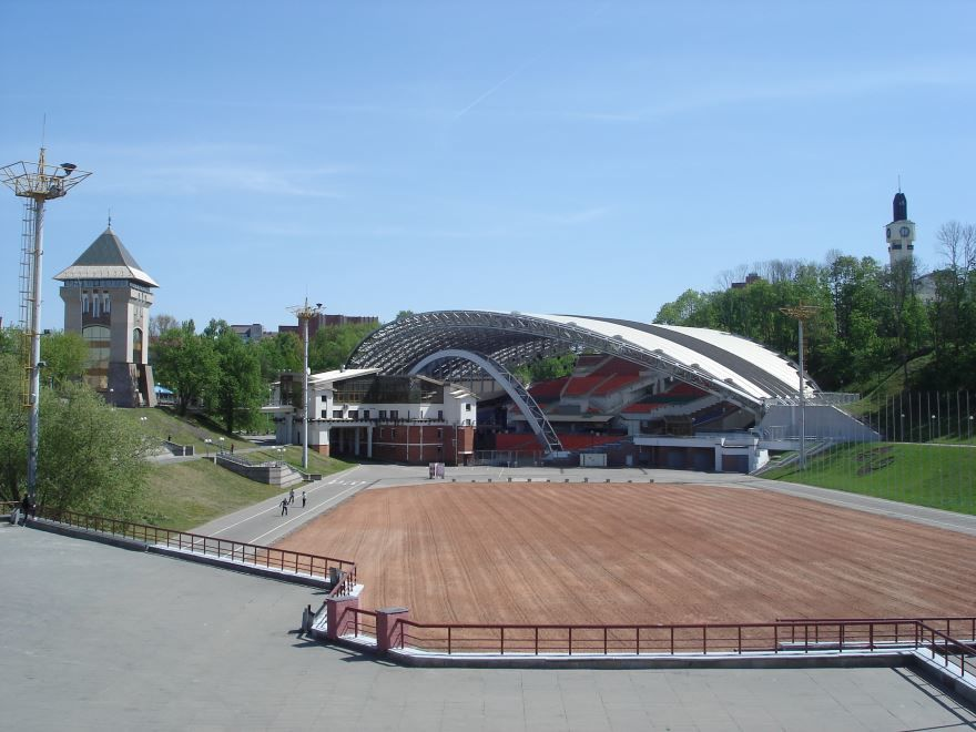 Летний Амфитеатр город Витебск Белоруссия