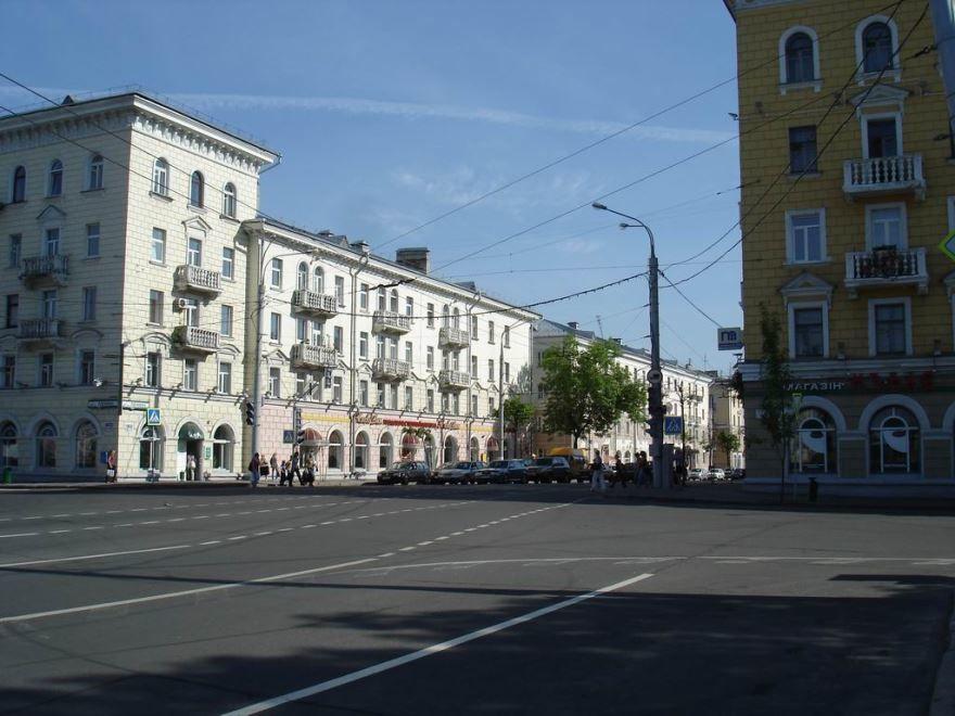 Улица Ленина город Витебск