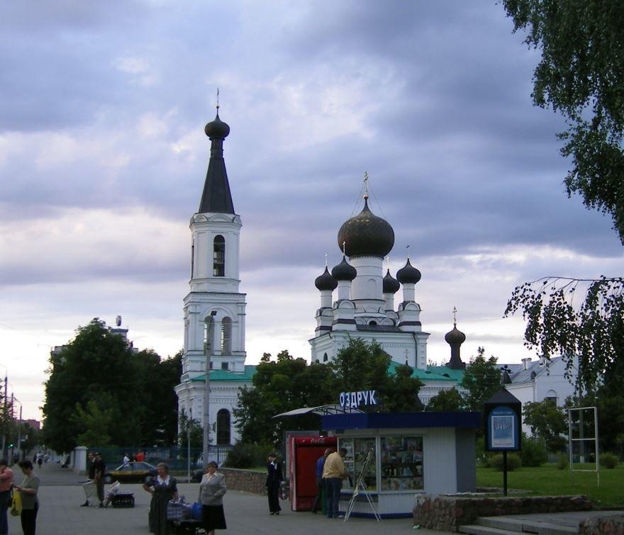 Собор трех Святителей город Могилев