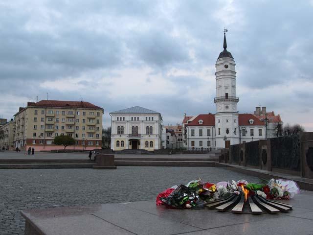 Скачать онлайн бесплатно лучшее фото площадь советская город Могилев