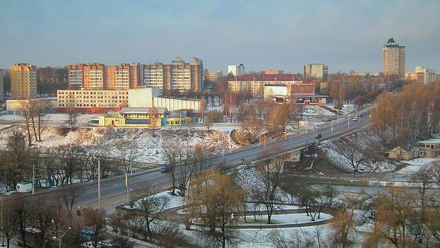 Смотреть лучшее фото вид на город Могилев в хорошем качестве