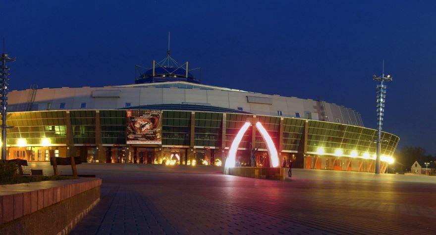 Ледовый дворец город Бобруйск 2019