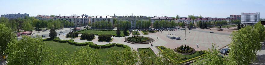 Площадь Ленина город Бобруйск