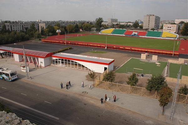 Стадион Спартак город Бобруйск Белоруссия