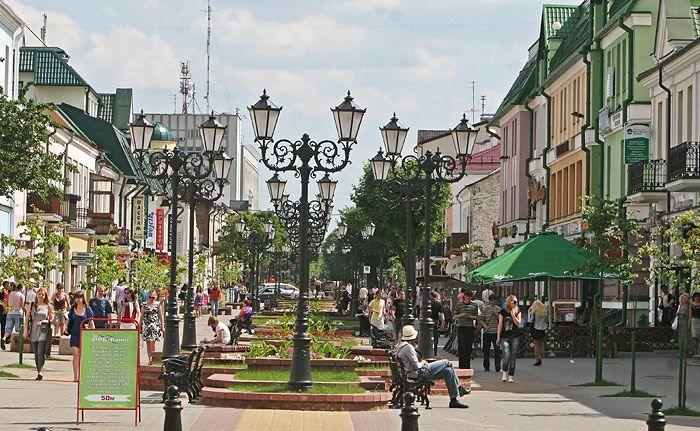 Смотреть красивое фото города Брест Белоруссия