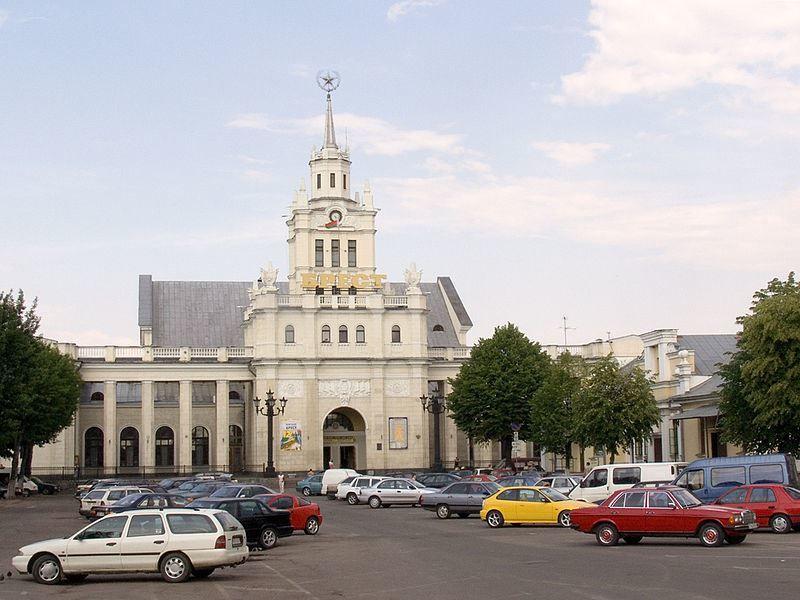 Железнодорожный вокзал город Брест 2019