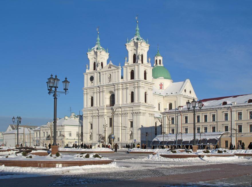 Костел Фарный город Гродно Белоруссия