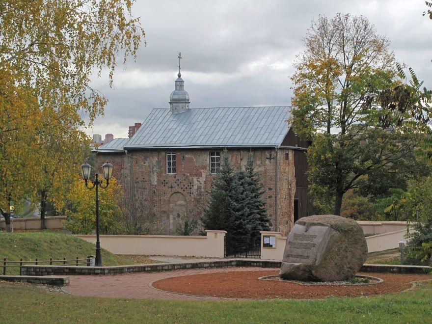 Коложская церковь город Гродно Белоруссия