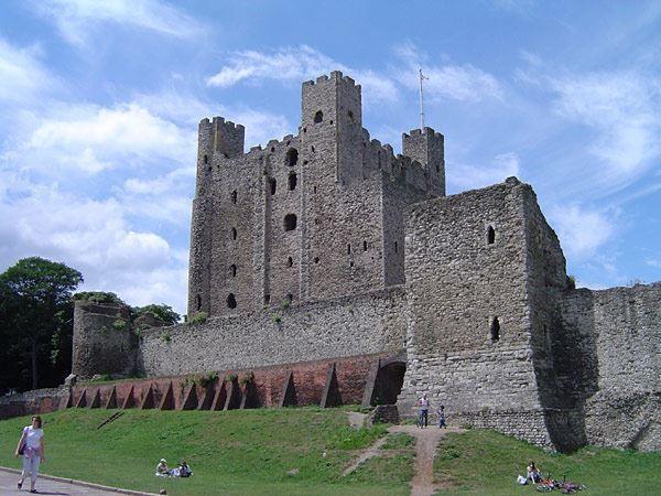 Замок города Рочестер штат Нью Йорк США