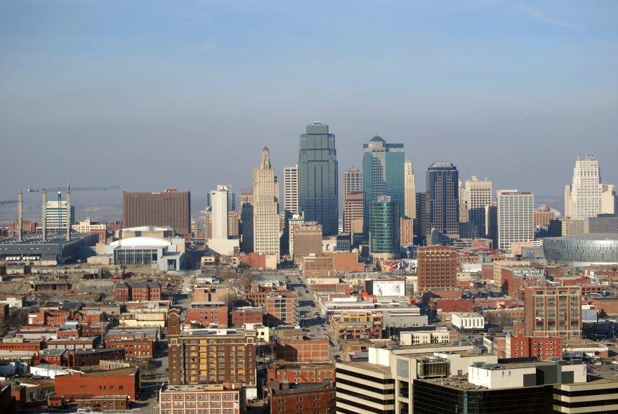Смотреть красивое фото города Канзас Сити штат Миссури США