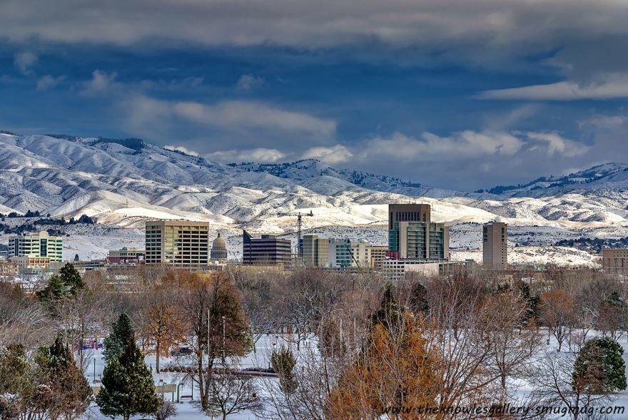 Смотреть красивое фото города Бойсе штат Айдахо США
