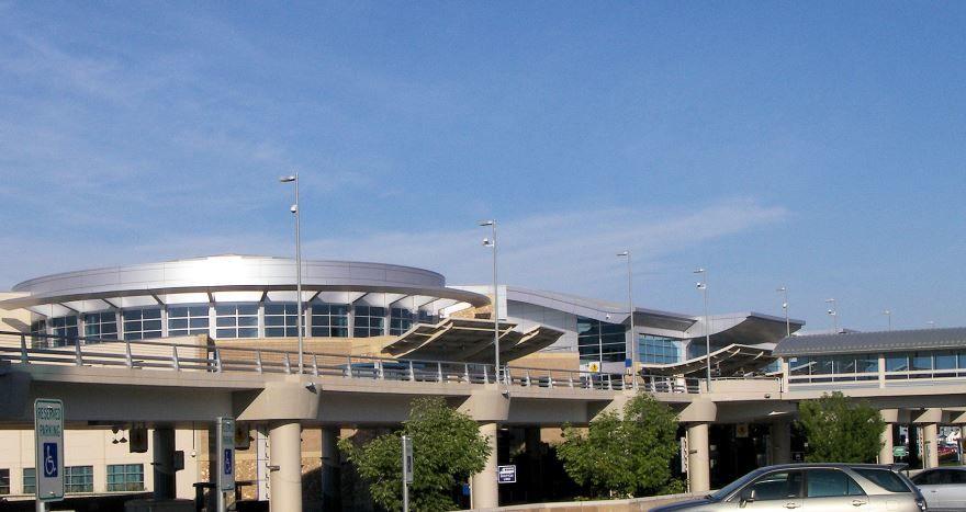 Аэропорт город Бойсе 2019 штат Айдахо США
