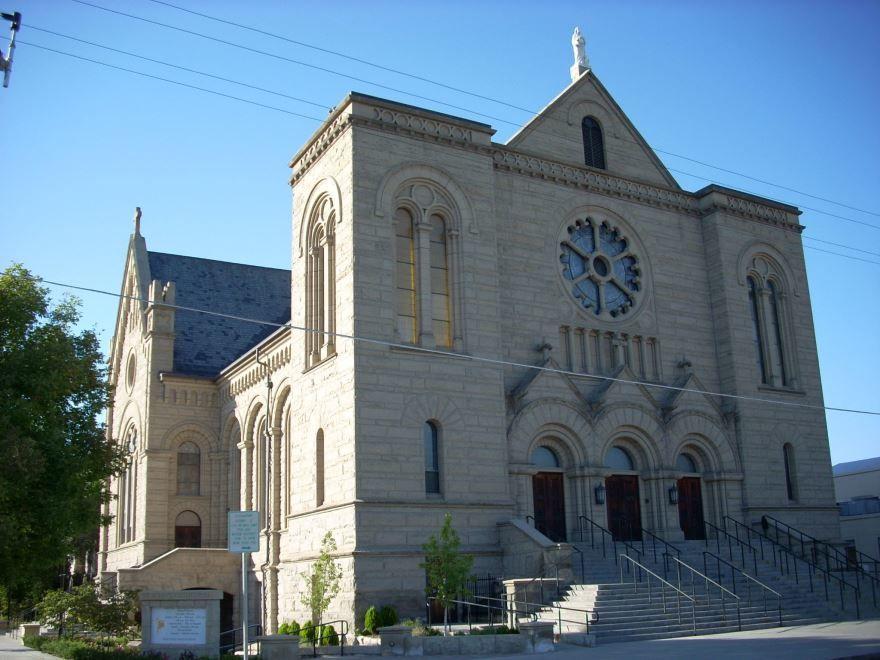 Собор города Бойсе штат Айдахо США