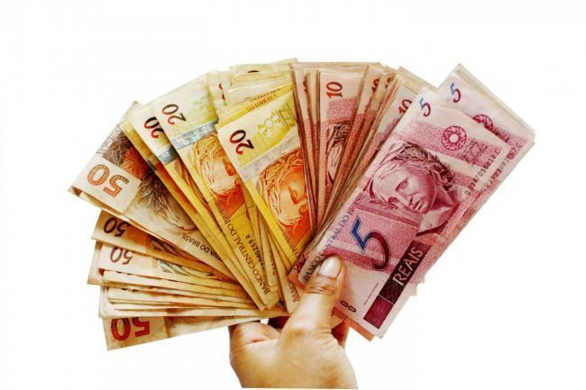 Веер из денег