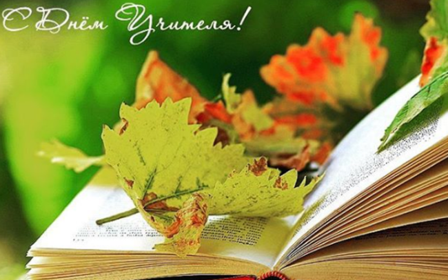 Книга с листьями