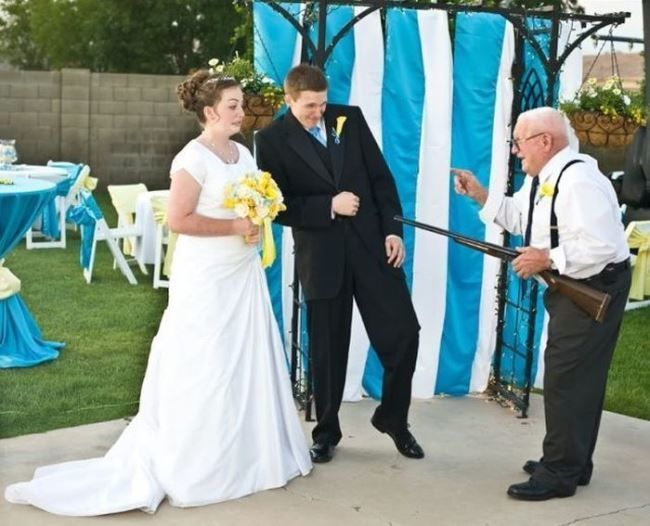 Прикол со свадьбы