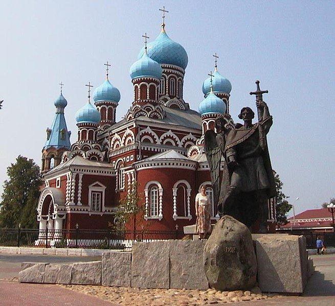 Памятник князю Борису Всесвавовичу город Борисов