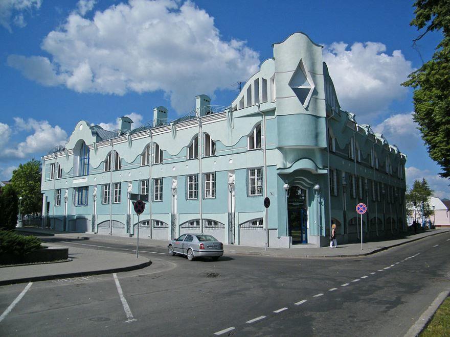 Корпус Полесского университета город Пинск