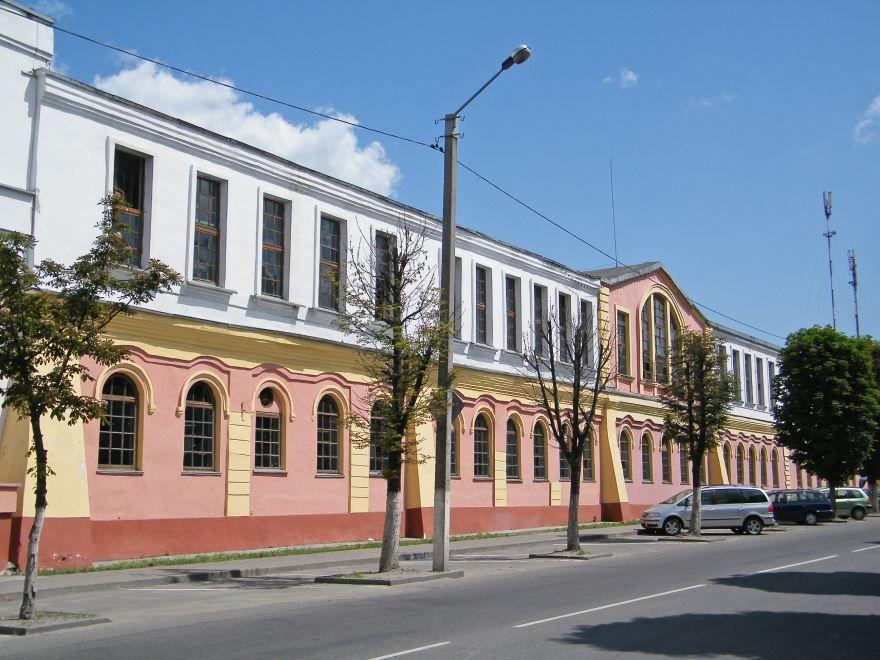 Спичечная фабрика город Пинск