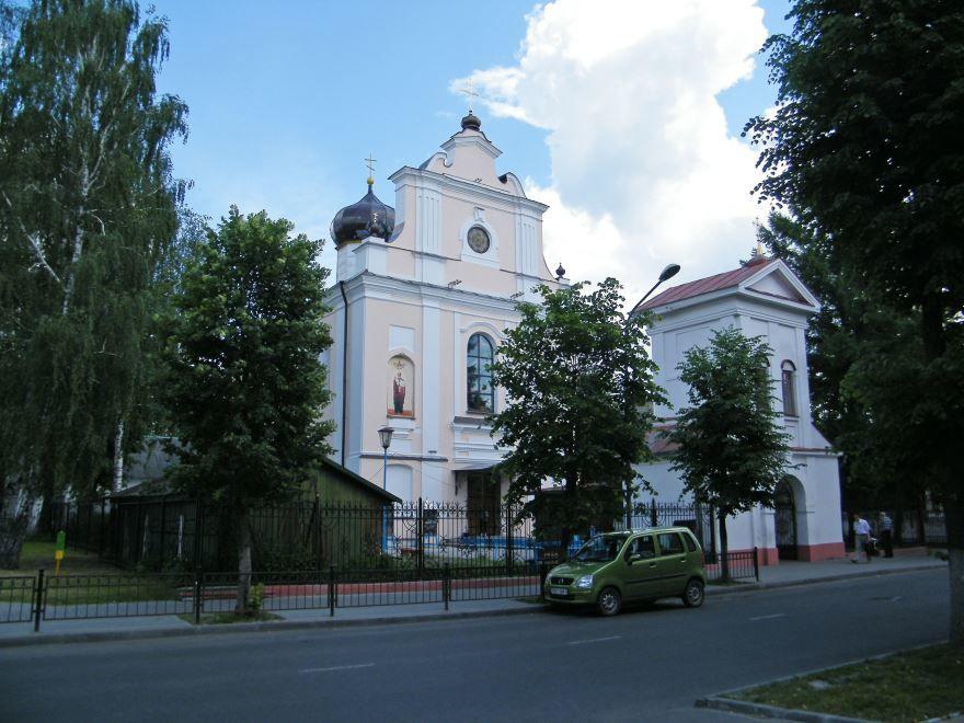 Варваринская церковь город Пинск