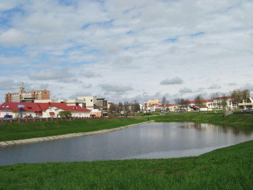Смотреть красивое фото вид на город Орша 2019 Белоруссия
