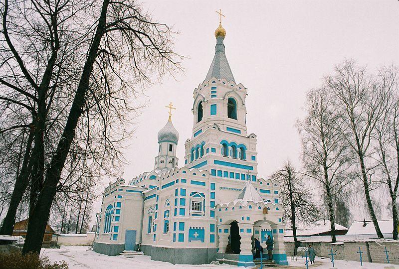 Свято Ильинский храм город Орша Белоруссия