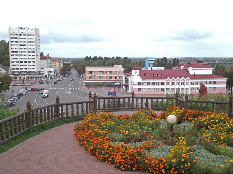 Центр города Мозырь
