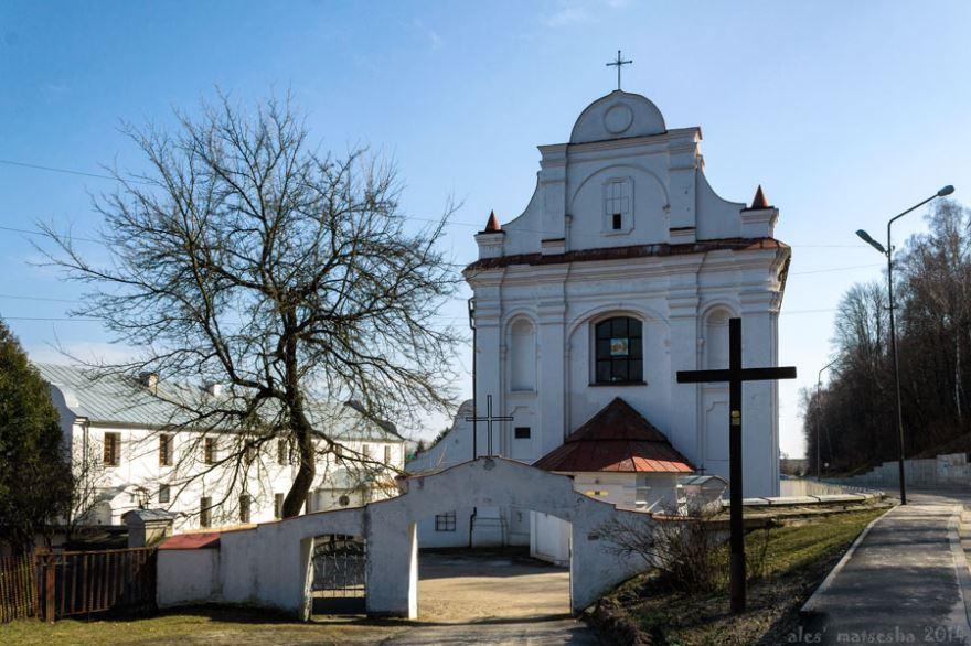 Костел Святого Михаила Архангела город Мозырь