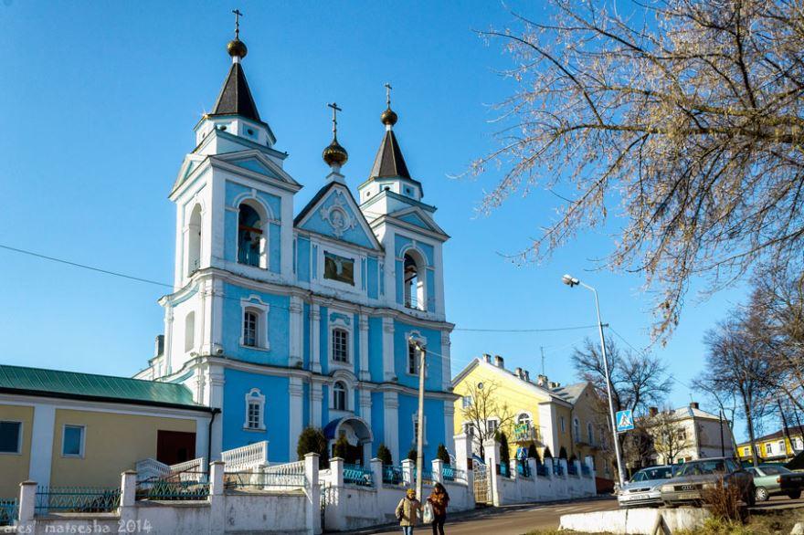 Михайловский собор город Мозырь