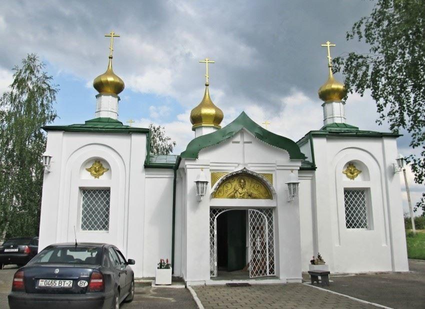 Церковь Михаила Архангела город Новополоцк