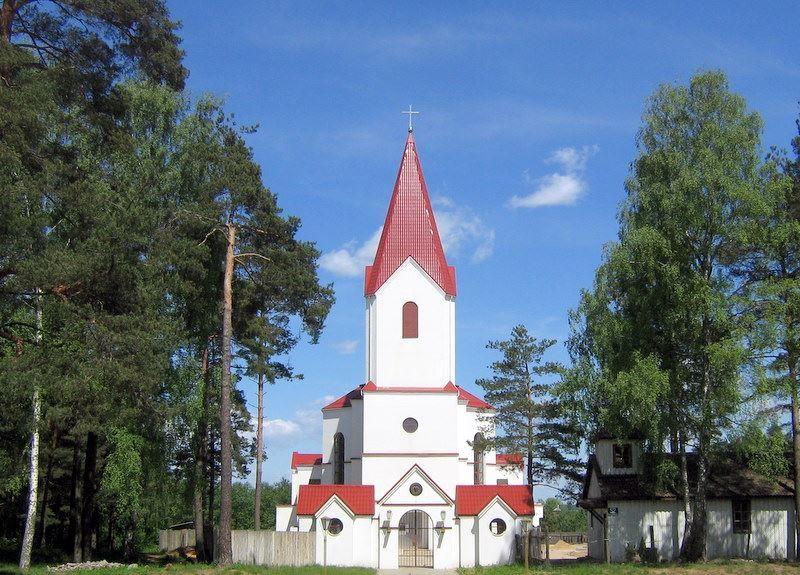 Костел город Новополоцк