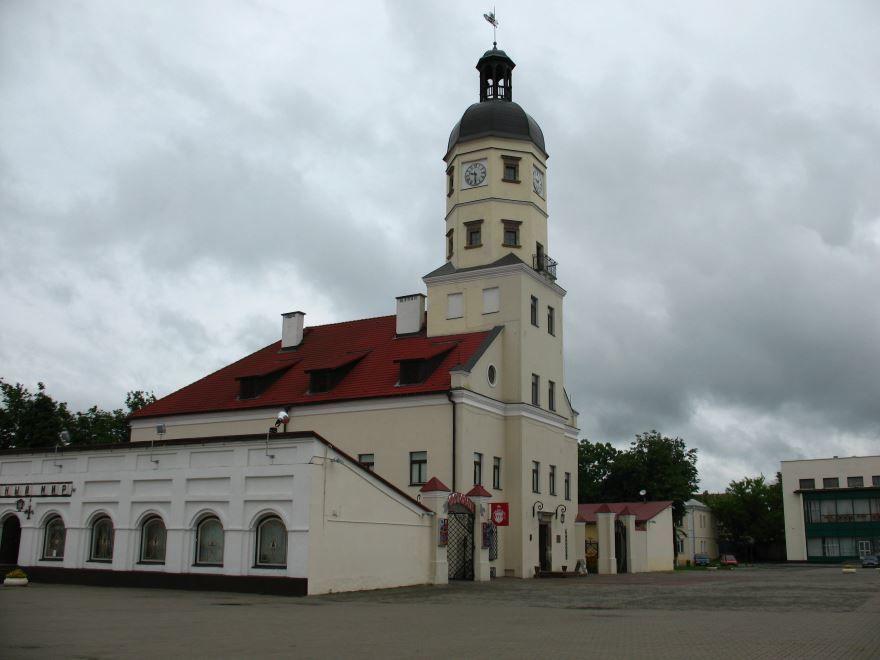 Смотреть красивое фото город Несвиж Белоруссия