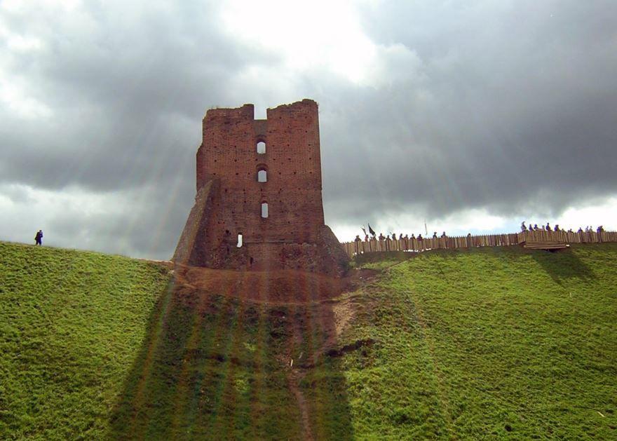 Развалины замка город Новогрудок