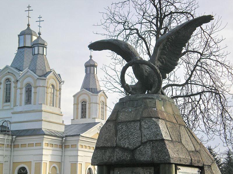Монумент Победы русских войск в битве под Кобрином