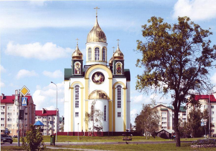 Свято Христо Рождественская церковь город Кобрин