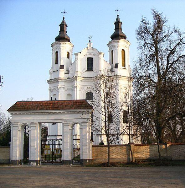 Костел Святого Андрея город Слоним Белоруссия