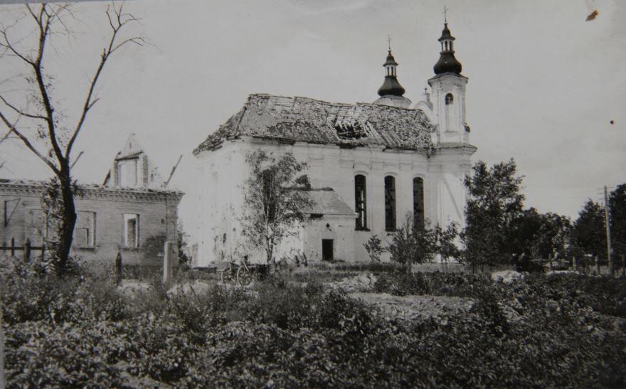 Смотреть лучшее старинное фото город Слоним 1916 год