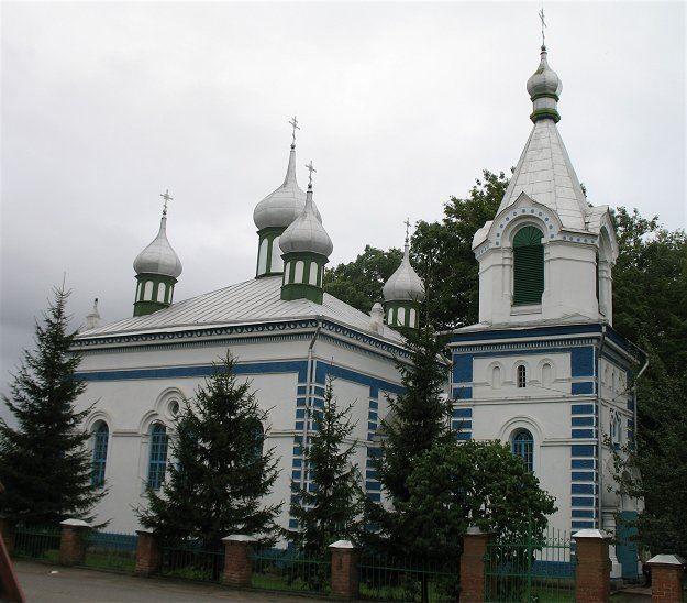 Церковь город Брослав Белоруссия