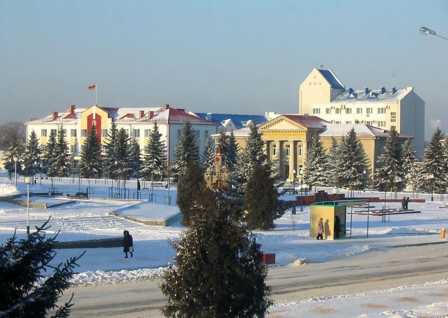 Смотреть красивое фото город Речица Белоруссия