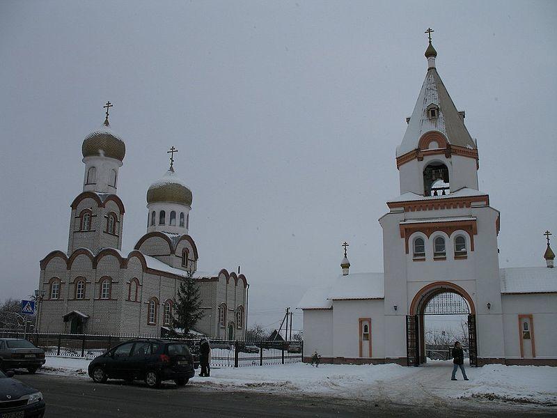 Церковь город Жлобин
