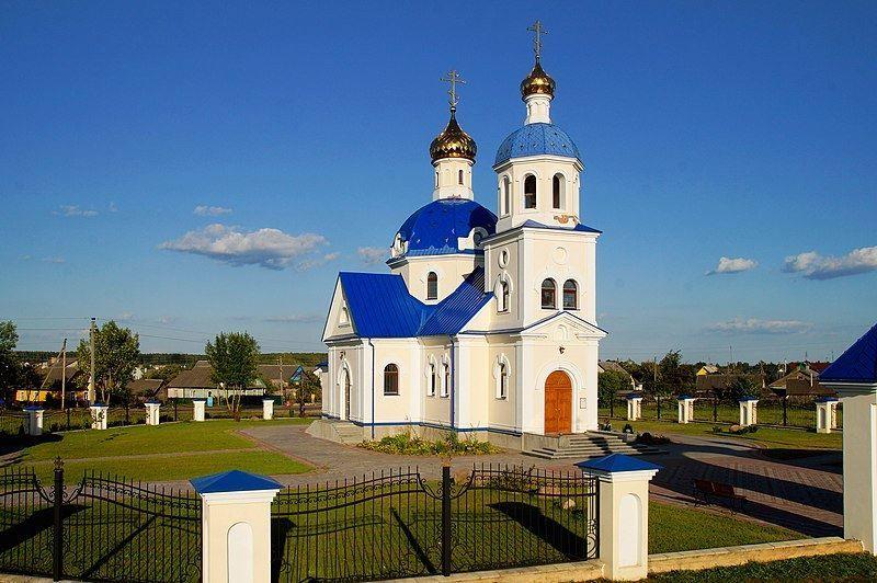 Церковь Покрова Пресвятой Богородицы город Вилейка